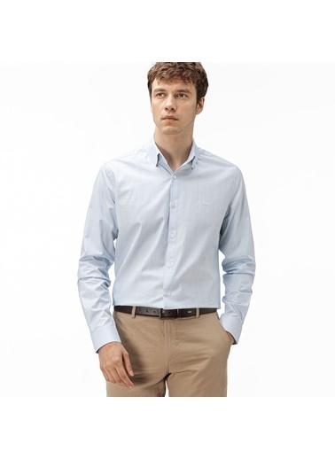 Lacoste Erkek Slim Fit Gömlek CH0172.4L9 Mavi